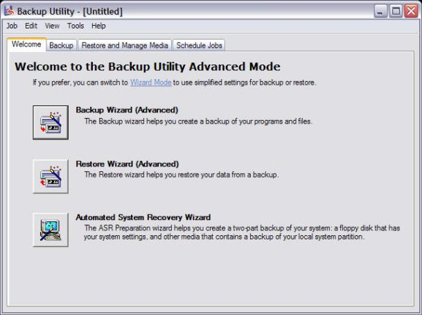 How to Create a Backup Image in Windows Vista and Windows XP