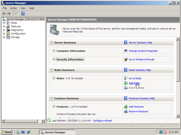 How to Install IIS 7 - 2