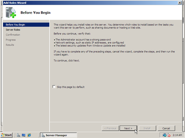 How to Install IIS 7 - 3