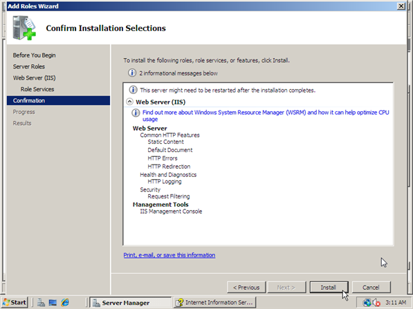 How to Install IIS 7 - 7