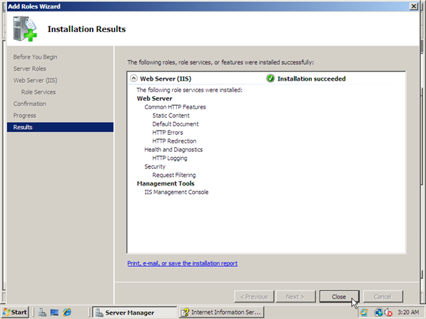 How to Install IIS 7 - 9