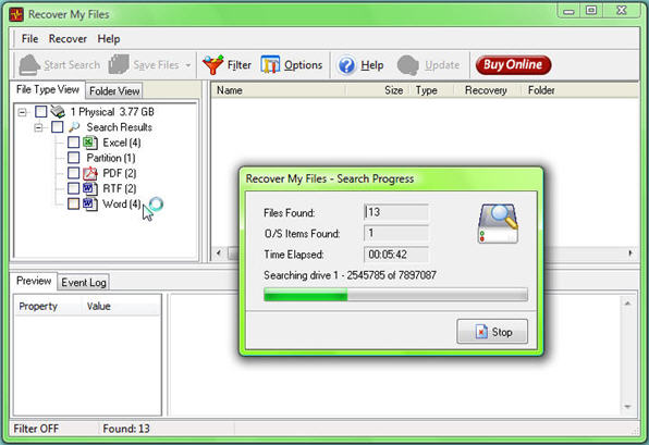 how to recover e drive data
