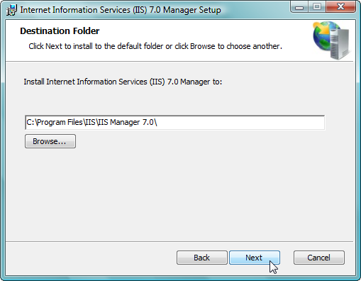 Remote Administration of IIS 7: Install, Configure, Connect - 7