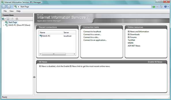 Remote Administration of IIS 7: Install, Configure, Connect