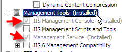 Remote Administration of IIS 7: Install, Configure, Connect - 11