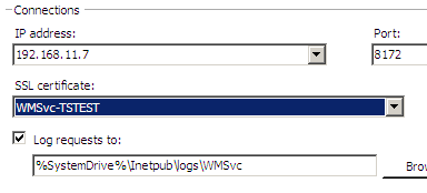 Remote Administration of IIS 7: Install, Configure, Connect - 13
