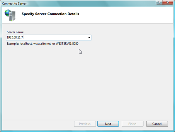 Remote Administration of IIS 7: Install, Configure, Connect - 17