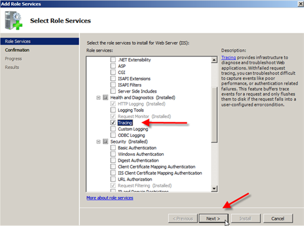 Troubleshooting IIS 7: Examining Trace Failed Request Logs - 2