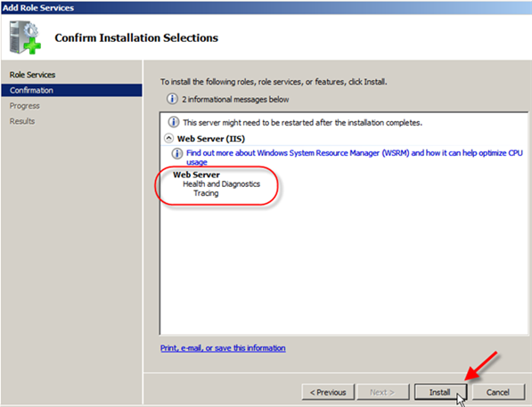 Troubleshooting IIS 7: Examining Trace Failed Request Logs - 3