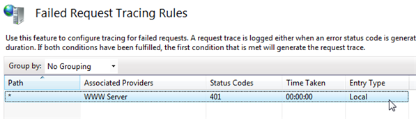 Troubleshooting IIS 7: Examining Trace Failed Request Logs -  10