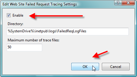 Troubleshooting IIS 7: Examining Trace Failed Request Logs - 12