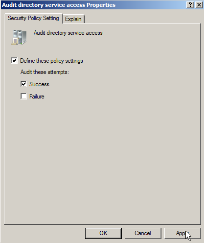 Server 2008: Auditing Active Directory - 6