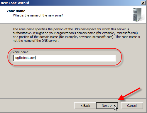 Windows DNS Server 2008: Setup External Internet DNS Server