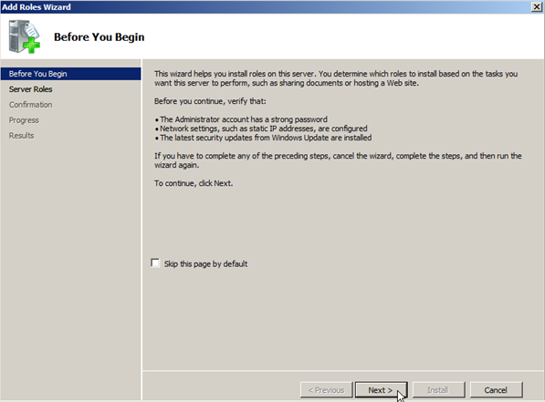 Windows Server 2008: Install Active Directory Domain Services - 2
