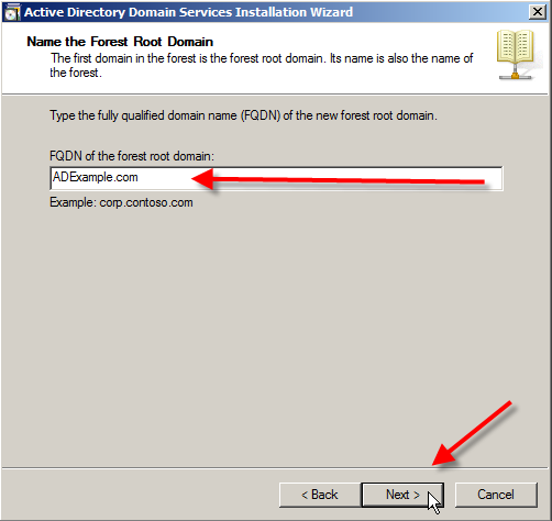 Windows Server 2008: Install Active Directory Domain Services - 12