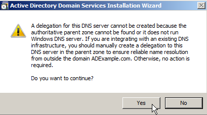 Windows Server 2008: Install Active Directory Domain Services - 16