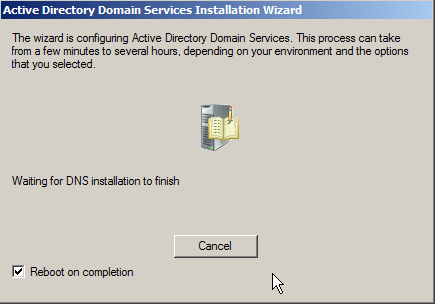 Windows Server 2008: Install Active Directory Domain Services - 20