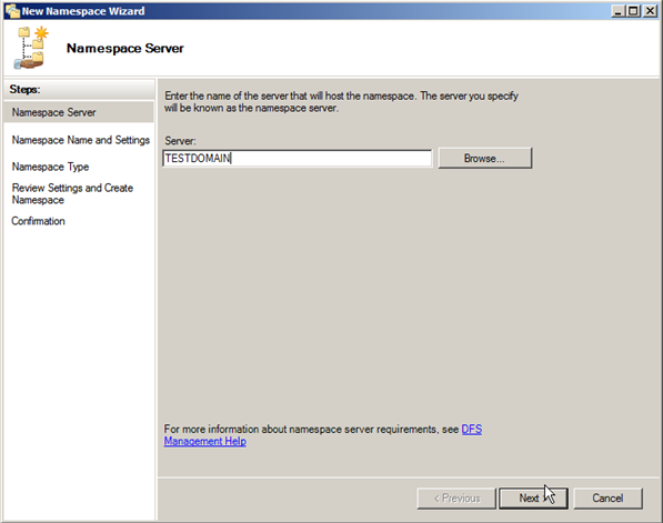 Server 2008: Configuring Distributed File Systems (DFS) - 3