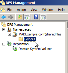 Server 2008: Configuring Distributed File Systems (DFS) - 12