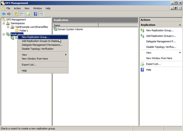Server 2008: Configuring Distributed File Systems (DFS) - 13