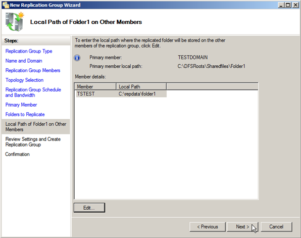 Server 2008: Configuring Distributed File Systems (DFS) - 23