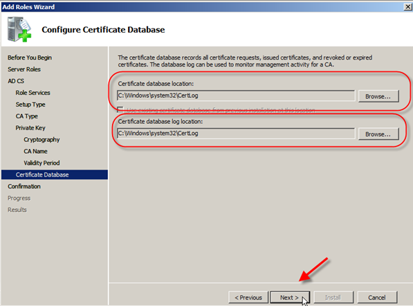 Server 2008: Install Active Directory Certificate Services - 11