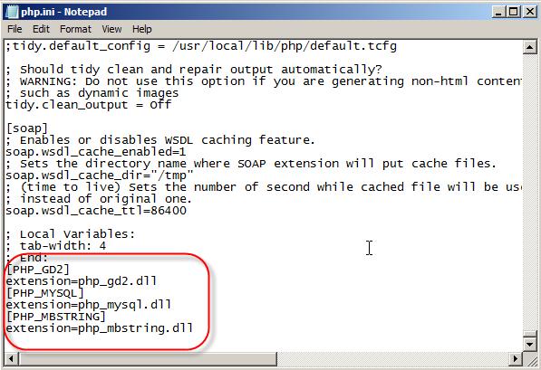 Install PHPMyAdmin on IIS7 and Server 2008 | Pluralsight