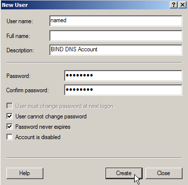 Install BIND DNS on Windows Web Server 2008 – 2