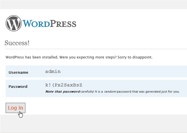 Installing WordPress on IIS 7 - 14