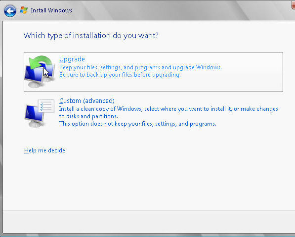 Upgrading to Server 2008 from Server 2003 - 20