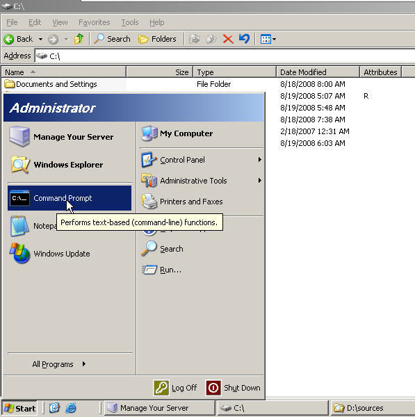 Upgrading to Server 2008 from Server 2003 - 5