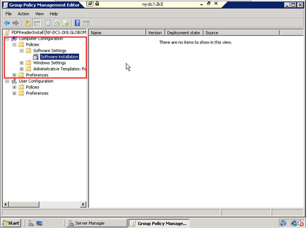 Installing Software Using GPOs on Windows Server 2008 - 14