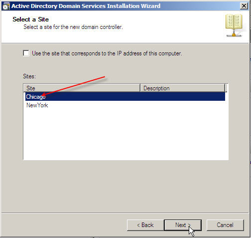 Server 2008 Active Directory: Adding a Child Domain - 15