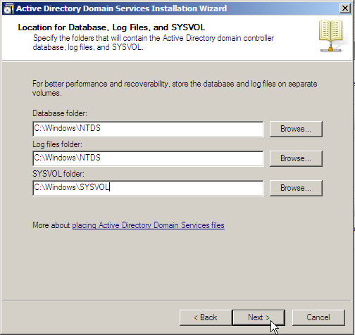 Server 2008 Active Directory: Adding a Child Domain - 17