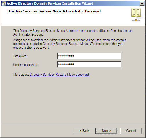 Server 2008 Active Directory: Adding a Child Domain - 18