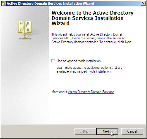 Server 2008 Active Directory: Adding a Child Domain - 8