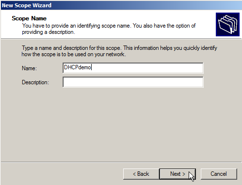 Configure DHCP on Windows Server 2008 - 4