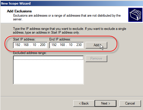 Configure DHCP on Windows Server 2008 - 6