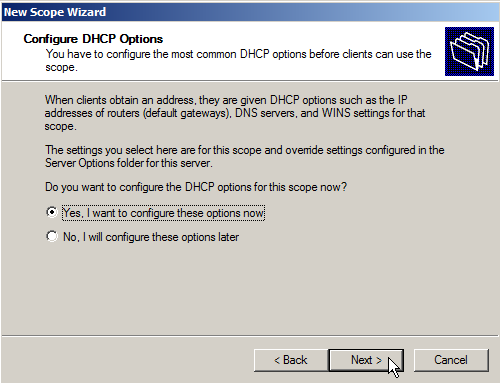 Configure DHCP on Windows Server 2008 - 9