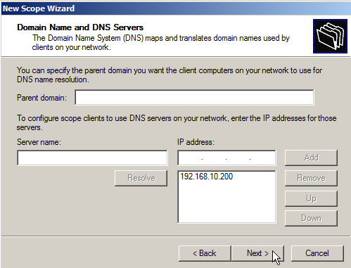 Configure DHCP on Windows Server 2008 - 11