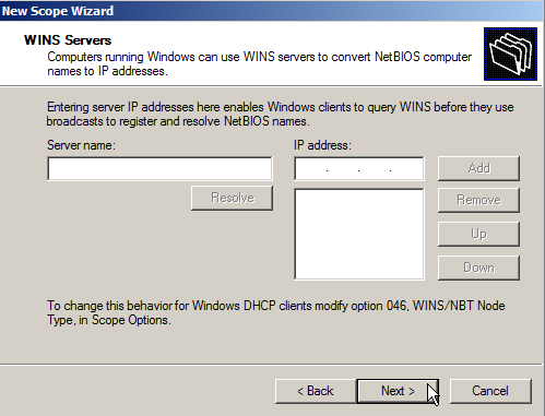 Configure DHCP on Windows Server 2008 - 12