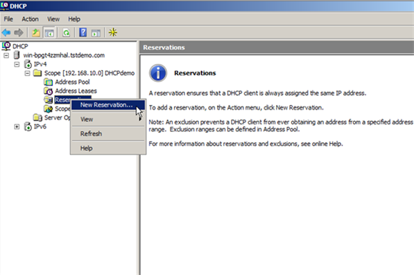 Configure DHCP on Windows Server 2008 - 17