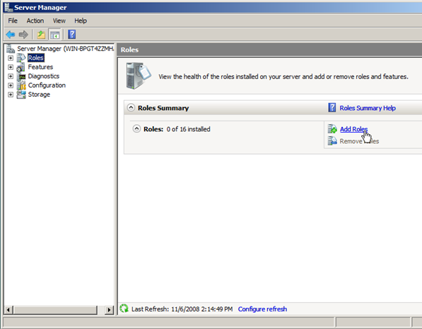 Windows Server 2008 as a LAN Router Running RIP - 1