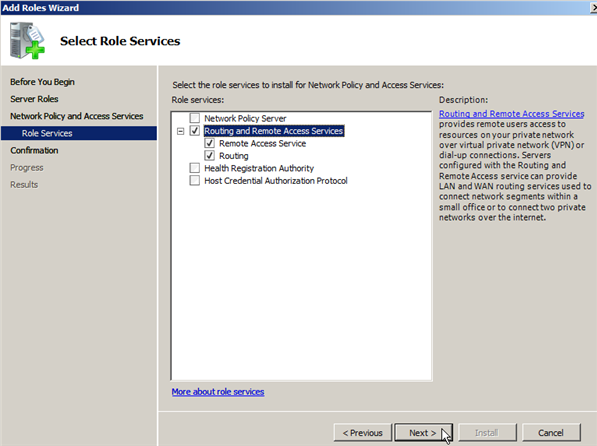 Windows Server 2008 as a LAN Router Running RIP - 4