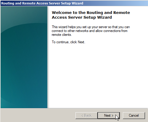 Windows Server 2008 as a LAN Router Running RIP - 11