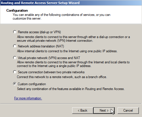 Windows Server 2008 as a LAN Router Running RIP - 12