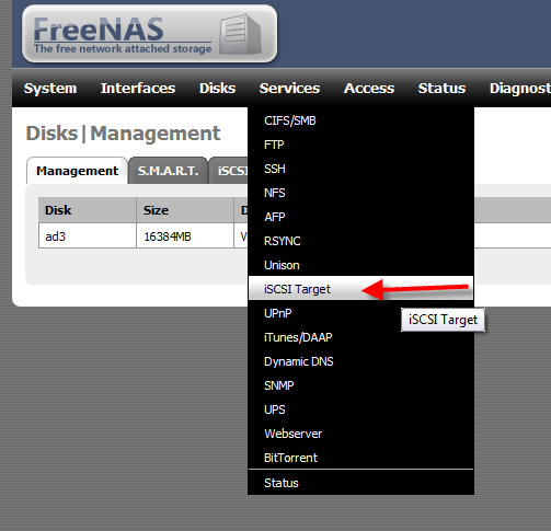 How to Setup iSCSI Drive Using FreeNAS - 5