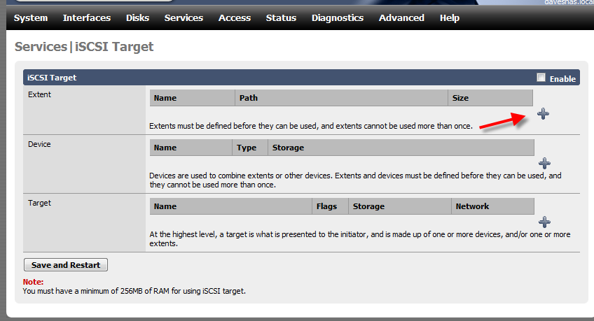 How to Setup iSCSI Drive Using FreeNAS - 6