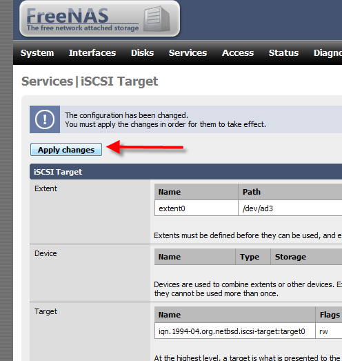 How to Setup iSCSI Drive Using FreeNAS - 11