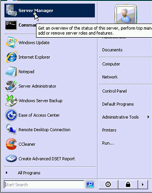 how to disable windows server 2008 backup